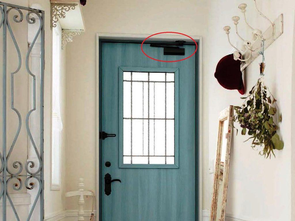 玄関のドアクローザー