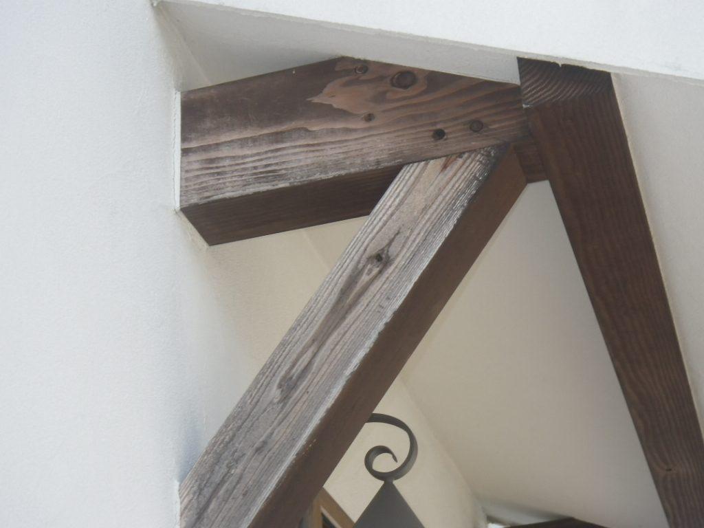 外部木部塗装劣化