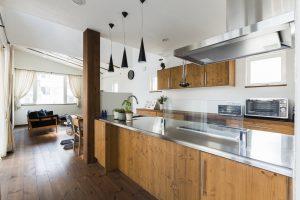アイジー実例物件 オープンキッチン