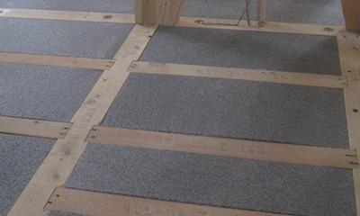 ビーズ法ポリスチレンフォーム保温板を用いた施工例