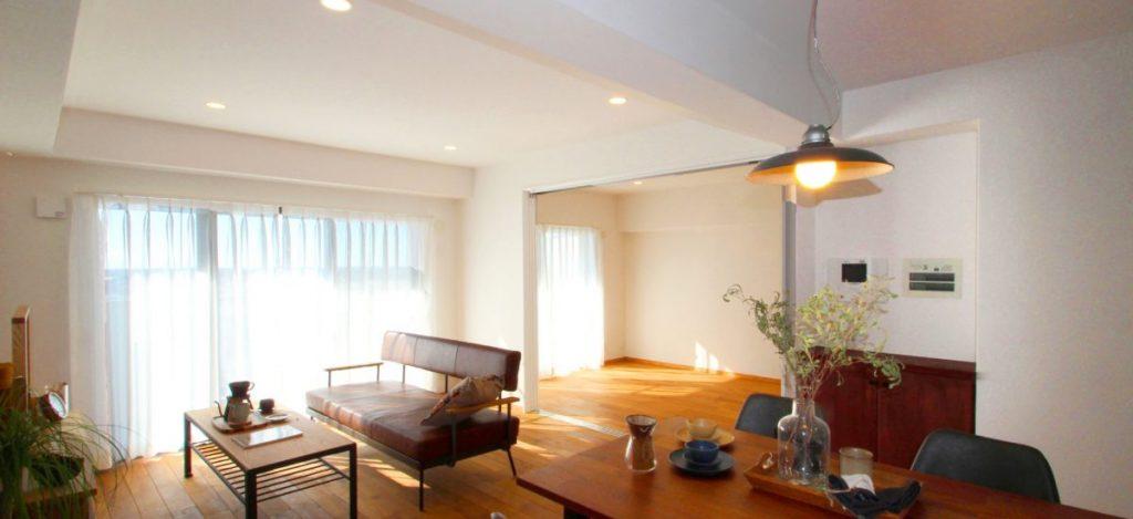 「空を眺める部屋」 LDKで過ごす贅沢な時間