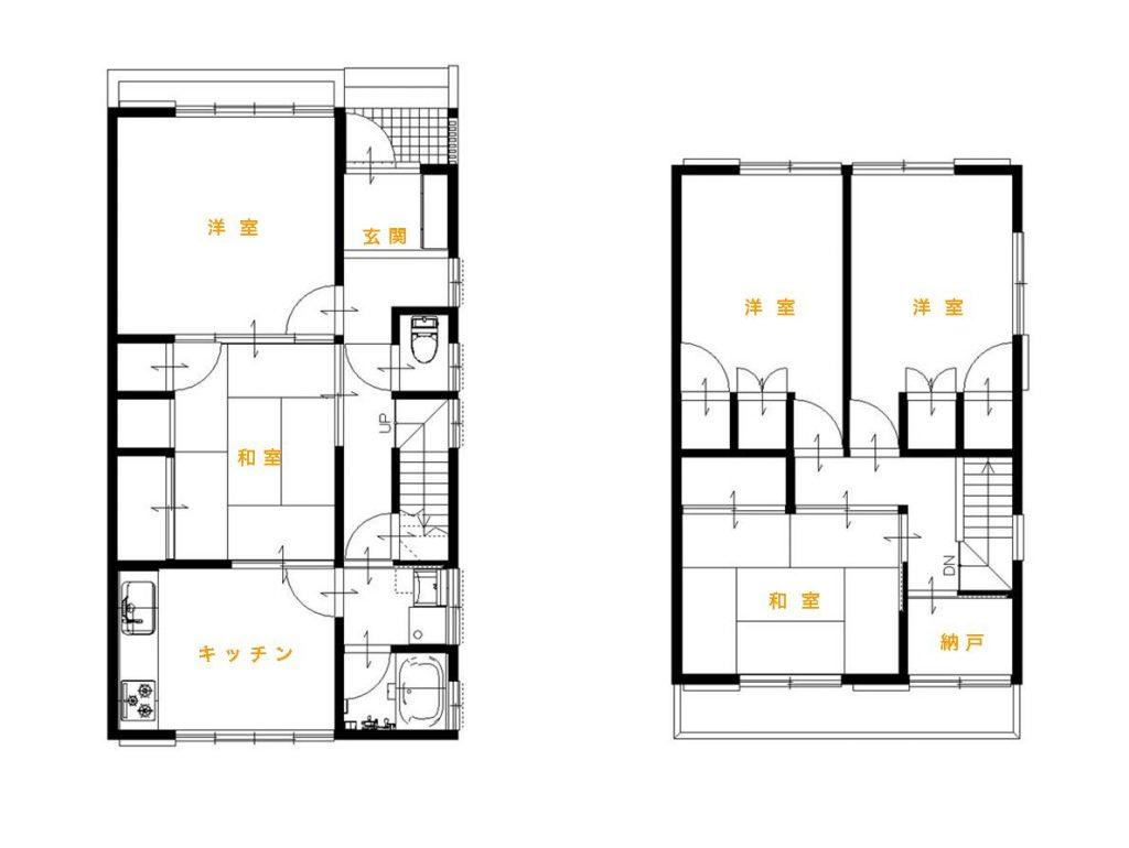 暗くて寒い家から、明るくて暖かく2世帯でも暮らしやすい家に快適リフォーム